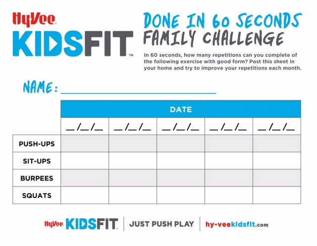 KidsFit DoneIn60Seconds