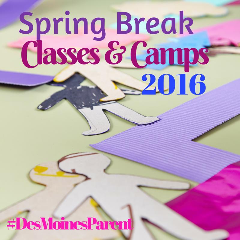 Spring Break Classes & Camps 2016