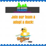 YESS Duck Derby + Des Moines Parent Team!