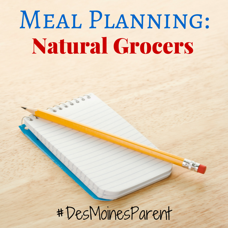 Meal Planning: Natural Grocers