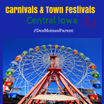 Carnivals & Town Festivals in Central Iowa 2016