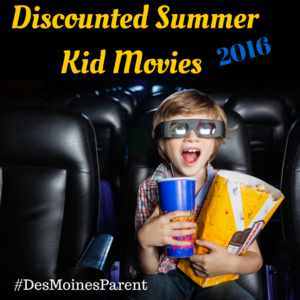Discounted Summer Kid Movies