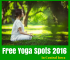 Free Yoga Spots 2016