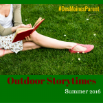 Outdoor Storytimes this Summer!
