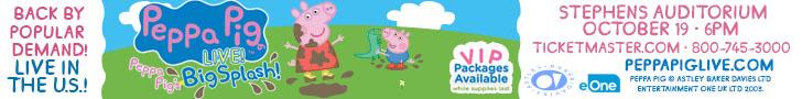 Peppa Pig 728x90 Ames