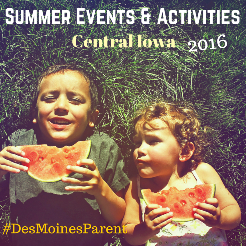 Summer Events & Activities in Central Iowa