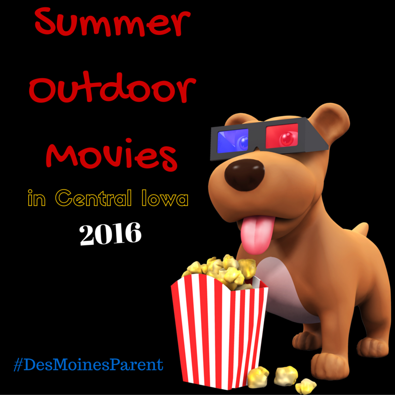 Summer Outdoor Movies 2016