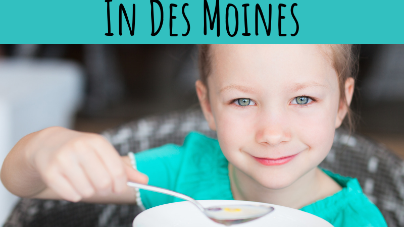 Kids Eat Free in Des Moines