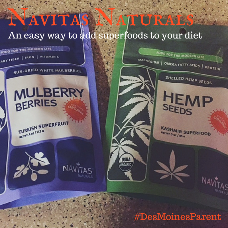 Navitas Naturals: An Easy Way to Add Superfoods to Your Diet!