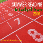 Summer Reading 2016 in Central Iowa