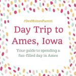 Day Trip to Ames, Iowa!