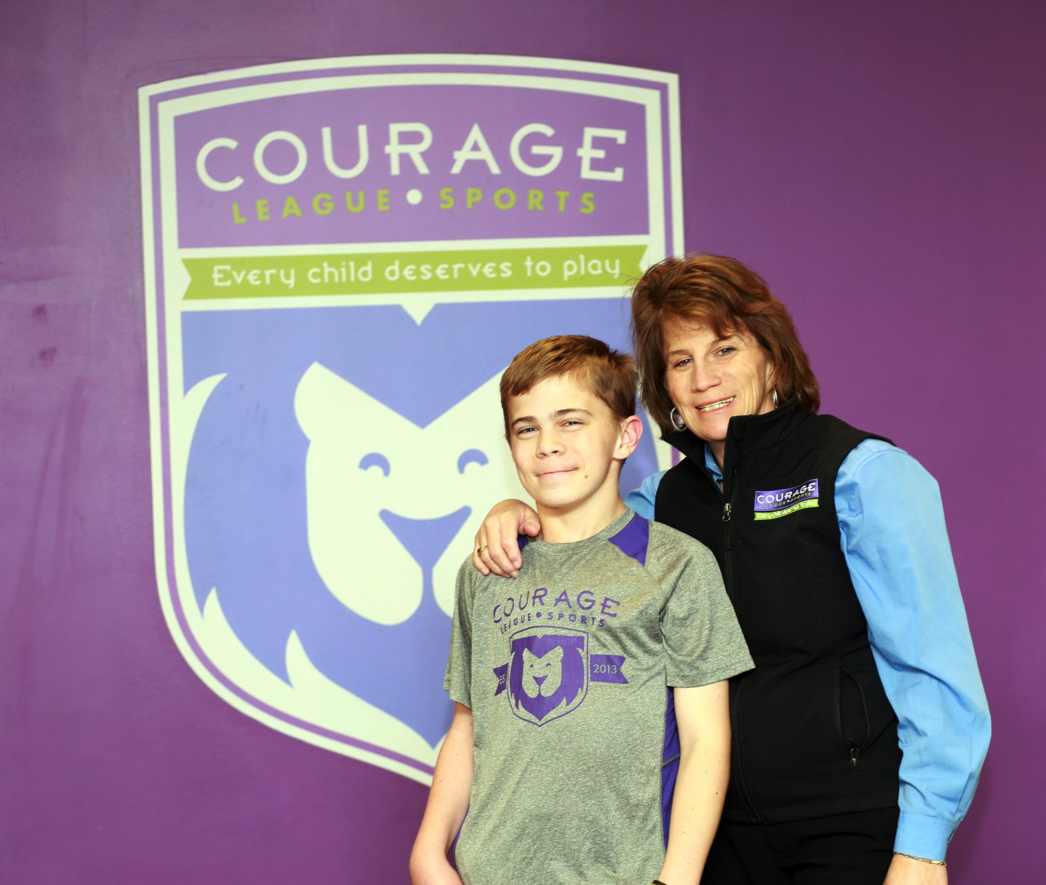Courage League Sports: Life Moments