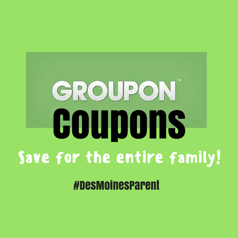 Groupon Coupons for the Family!