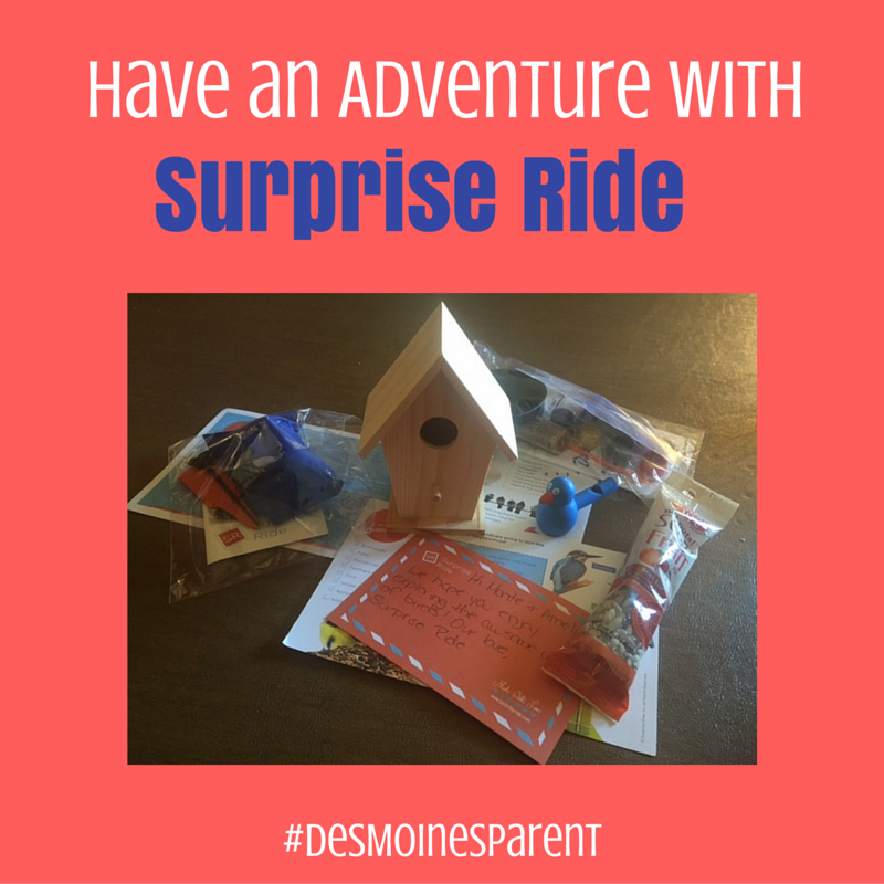 Have an Adventure with Surprise Ride