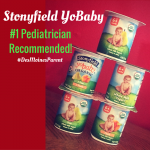 Stonyfield YoBaby Pediatrician Recommended + Giveaway!