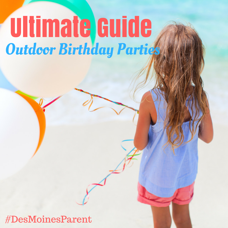 Outdoor Birthday in Des Moines