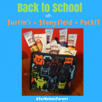 Back to School with Justin's + Stonyfield + PackiT!