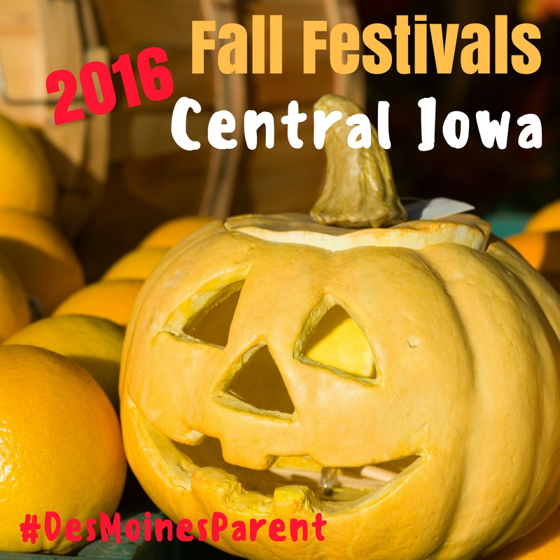 Fall Festivals in Central Iowa 2016