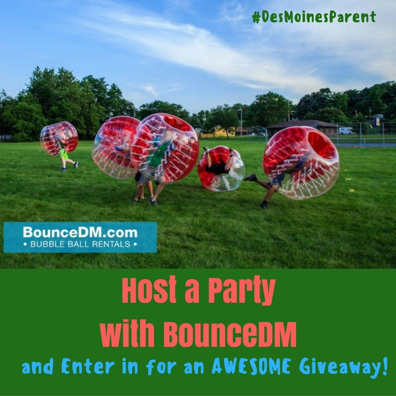 Host a Party with BounceDM + Awesome Giveaway!