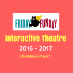 Friday Funday: Interactive Theatre 2016-17