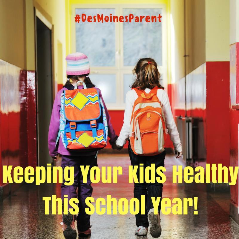 Tips To Keeping Your Kids Healthy This School Year!