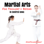 Martial Arts for Toddlers & Beyond!