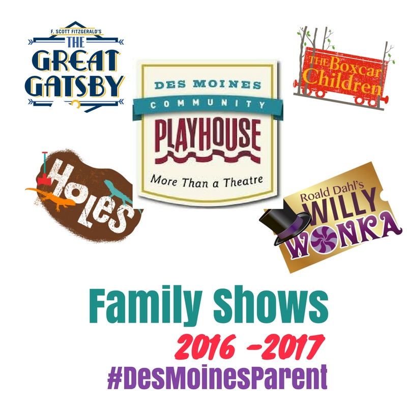Des Moines Community Playhouse: Family Shows 2016-17