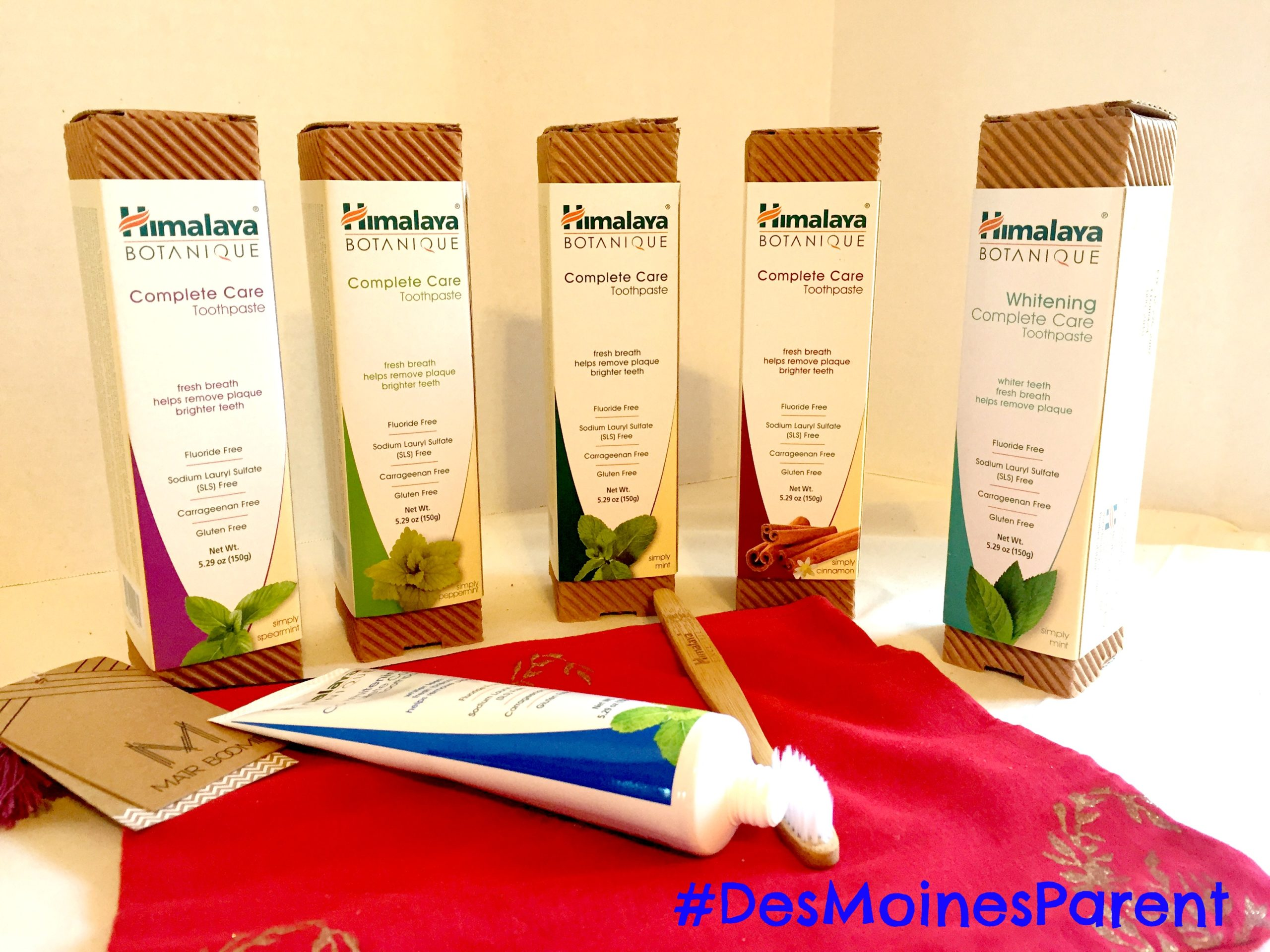 Himalaya Botanique Toothpaste for the Entire Family!
