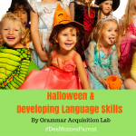 Halloween & Developing Language Skills