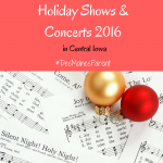 Holiday Shows & Concerts 2016