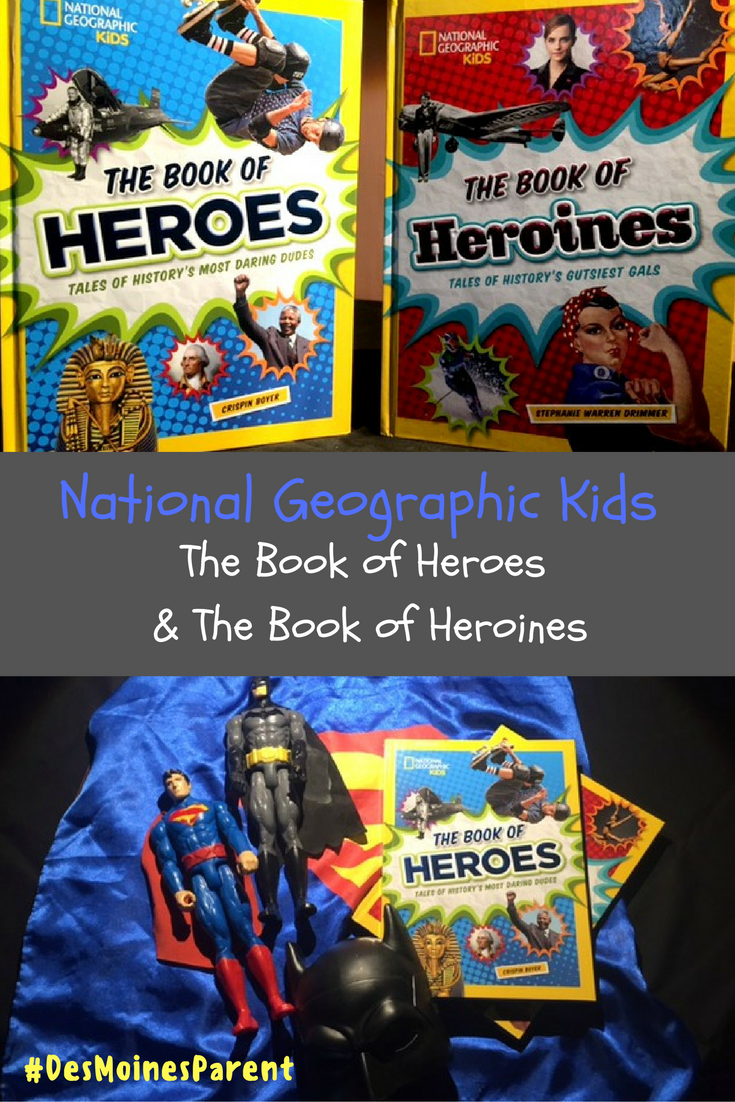 National Geographic Kids: Heroes & Heroines + Giveaway!