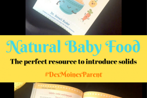 If you are at the stage to introduce solids to your little one, make sure you grab a copy of the Natural Baby Food book. Great recipes and a great resource!