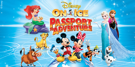 Disney On Ice: Passport to Adventure + Giveaway!