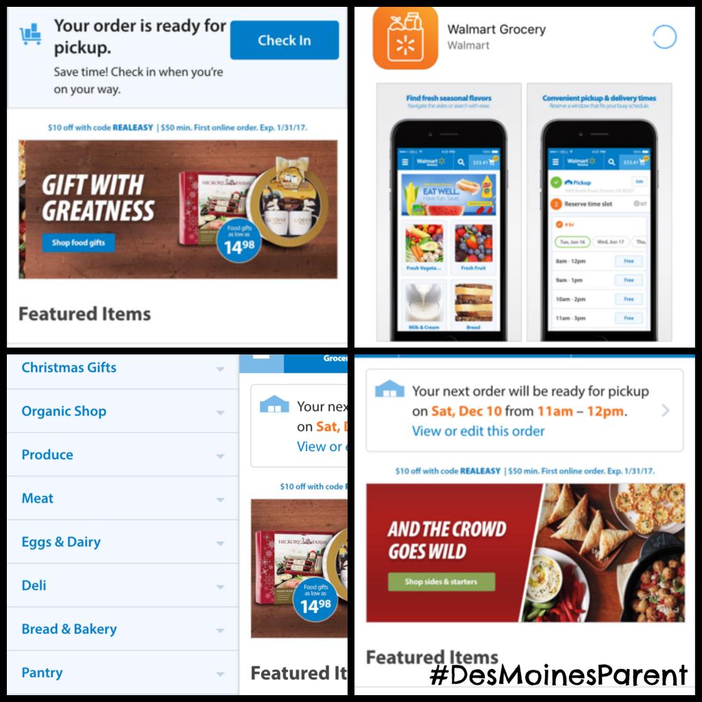 Walmart Online Grocery Shopping