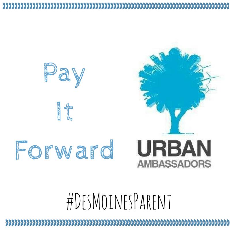 Pay It Forward: Urban Ambassadors