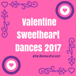 Valentine Sweetheart Dances 2017