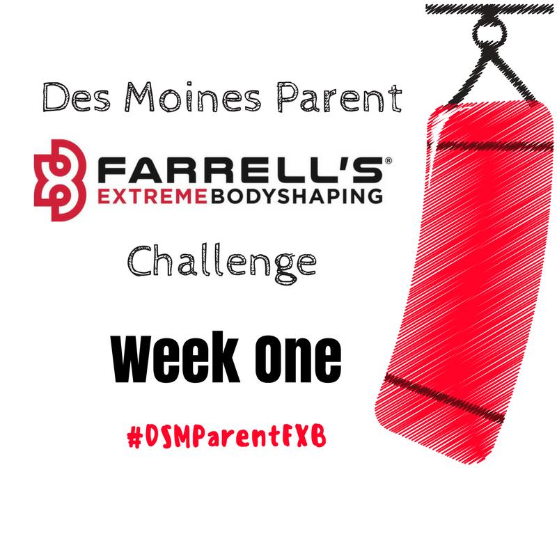 Des Moines Parent FXB Challenge: Week One
