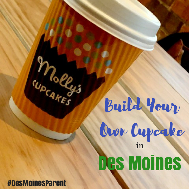 Molly's Cupcakes: Build Your Own Cupcake in Des Moines
