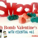Bath Bomb Valentine's with Essential Oils