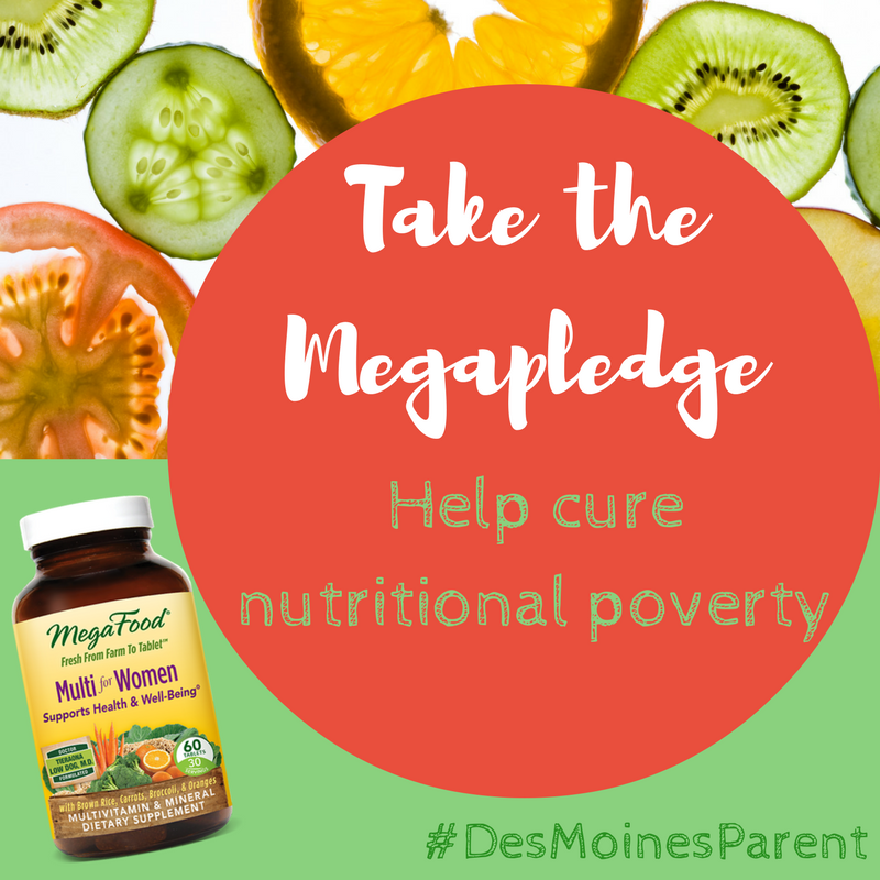 Take the Megapledge: Help Cure Nutritional Poverty