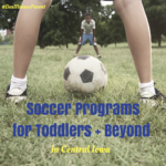 Soccer Programs for Toddlers & Beyond!