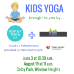 Pop Up Yoga DSM + Des Moines Parent