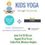 Pop Up Yoga DSM + Des Moines Parent