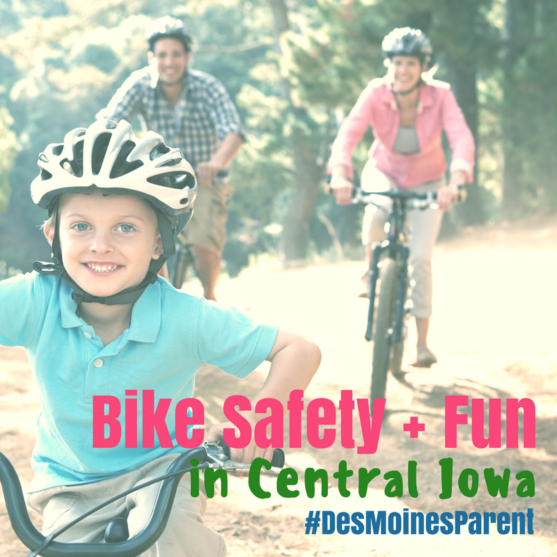Bike Safety + Fun in Central Iowa