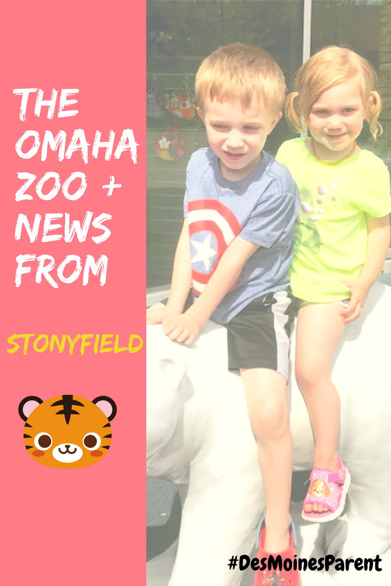 The Omaha Zoo + News From Stonyfield