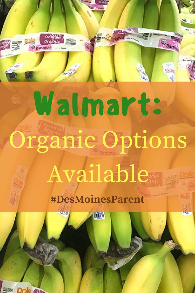 Walmart: Organic Options Available