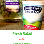 Fresh Salad with Taylor Farms + Stonyfield Yogurt