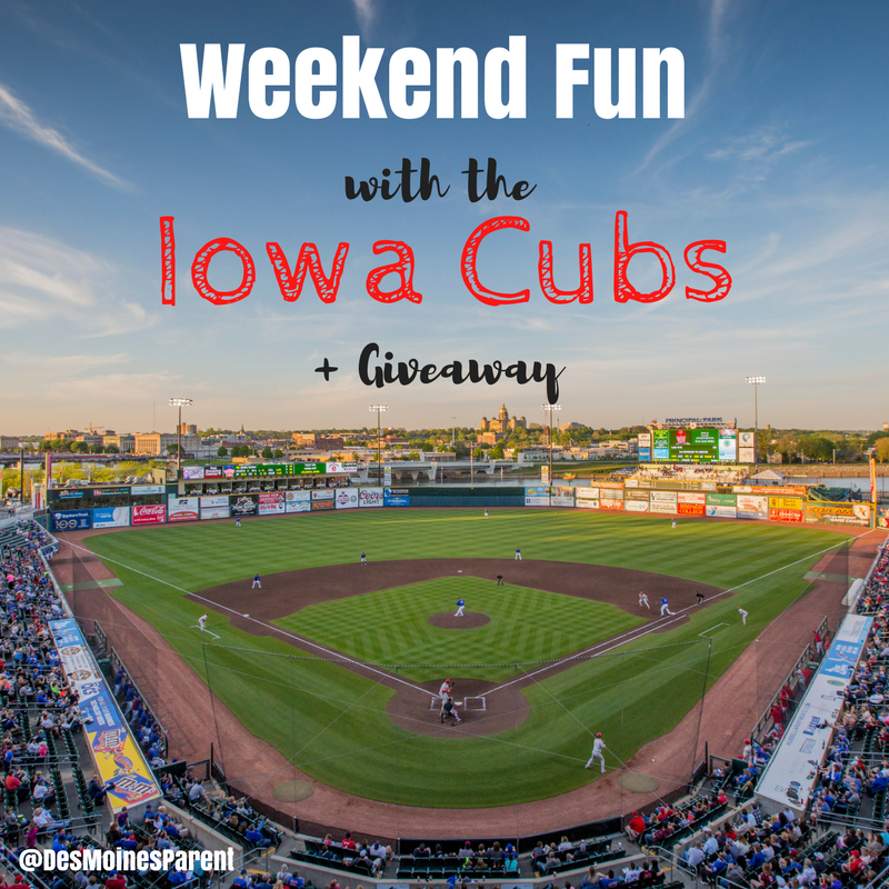Weekend Fun with the Iowa Cubs