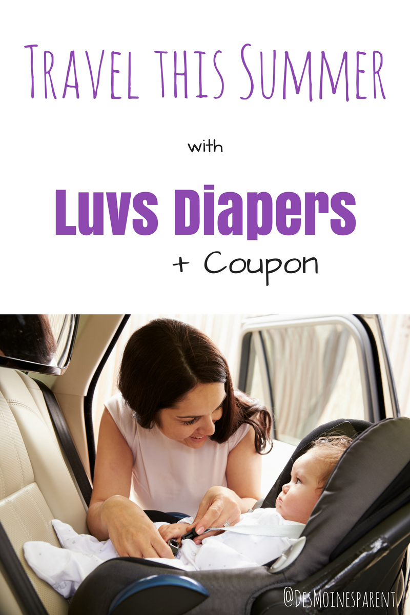 Travel this Summer with Luvs Diapers + Coupon