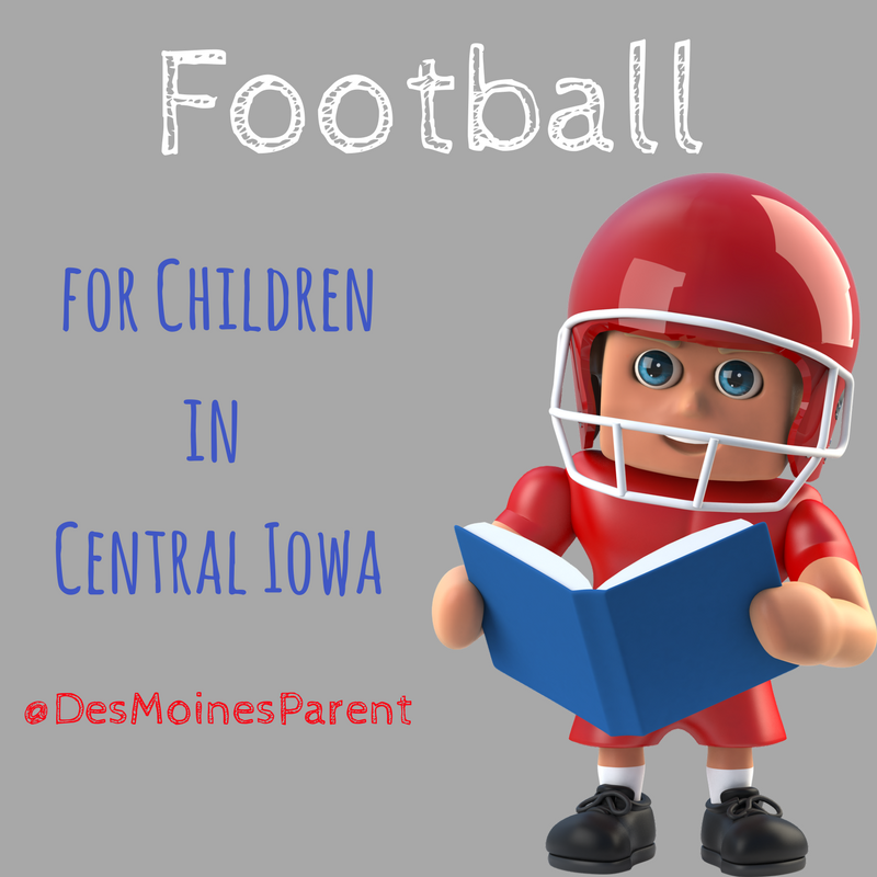 Football Programs for Kids in Des Moines